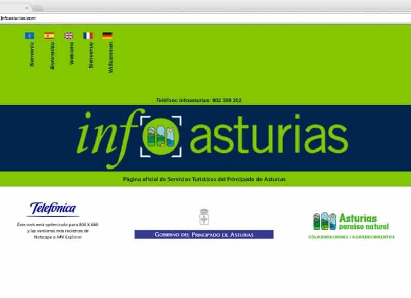 InfoAsturias: web