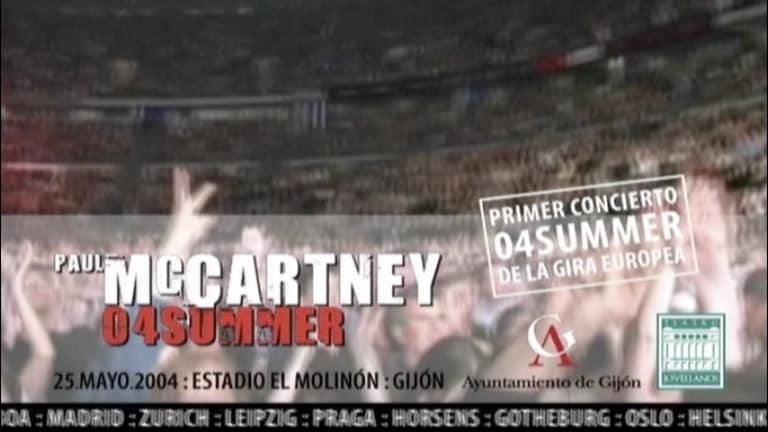 McCartney European Tour Gijón