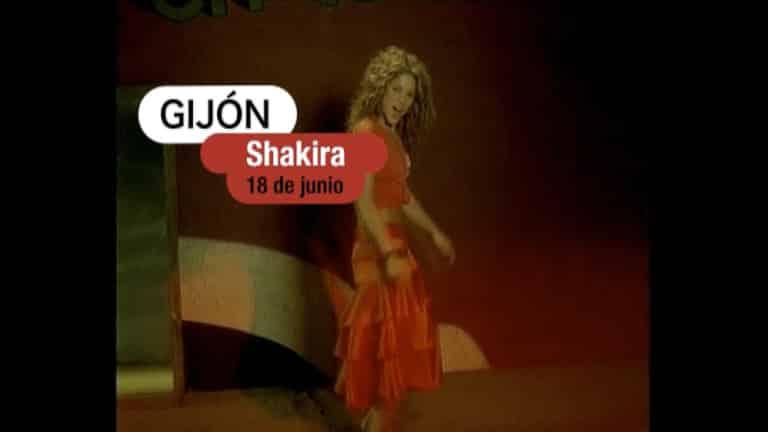 Shakira en Gijón