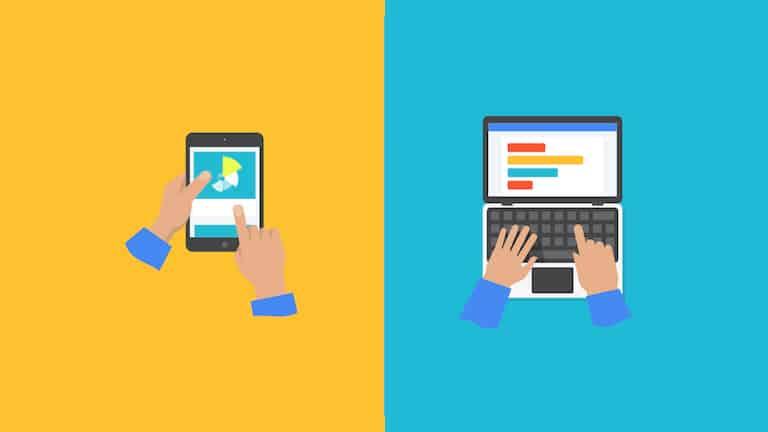 Los dispositivos móviles en Internet