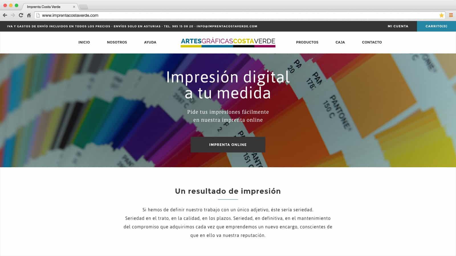 Imprenta Costa Verde