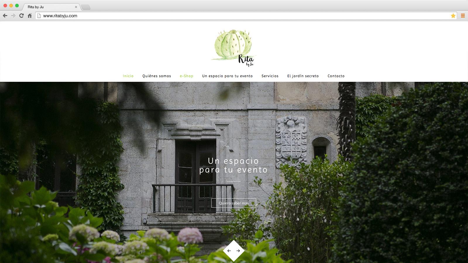Web Rita by Ju - víctor merino | vídeo marketing online