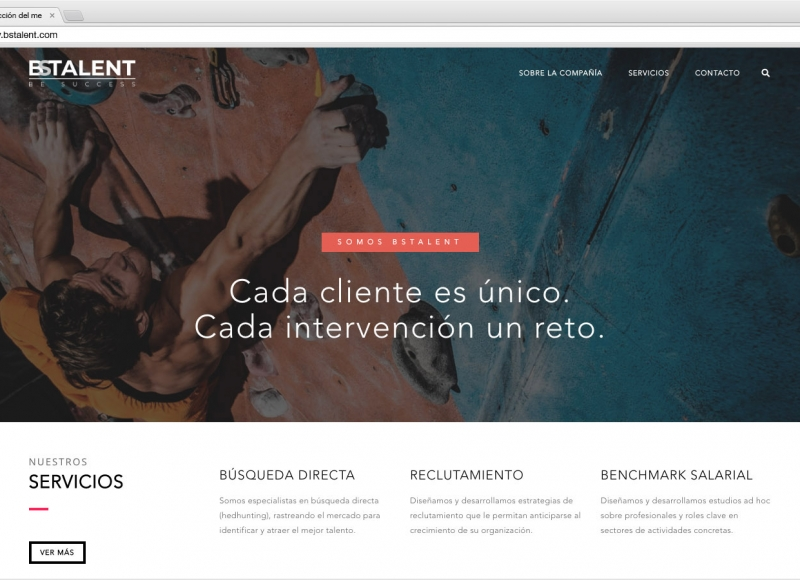 Website BSTalent - víctor merino | vídeo marketing online