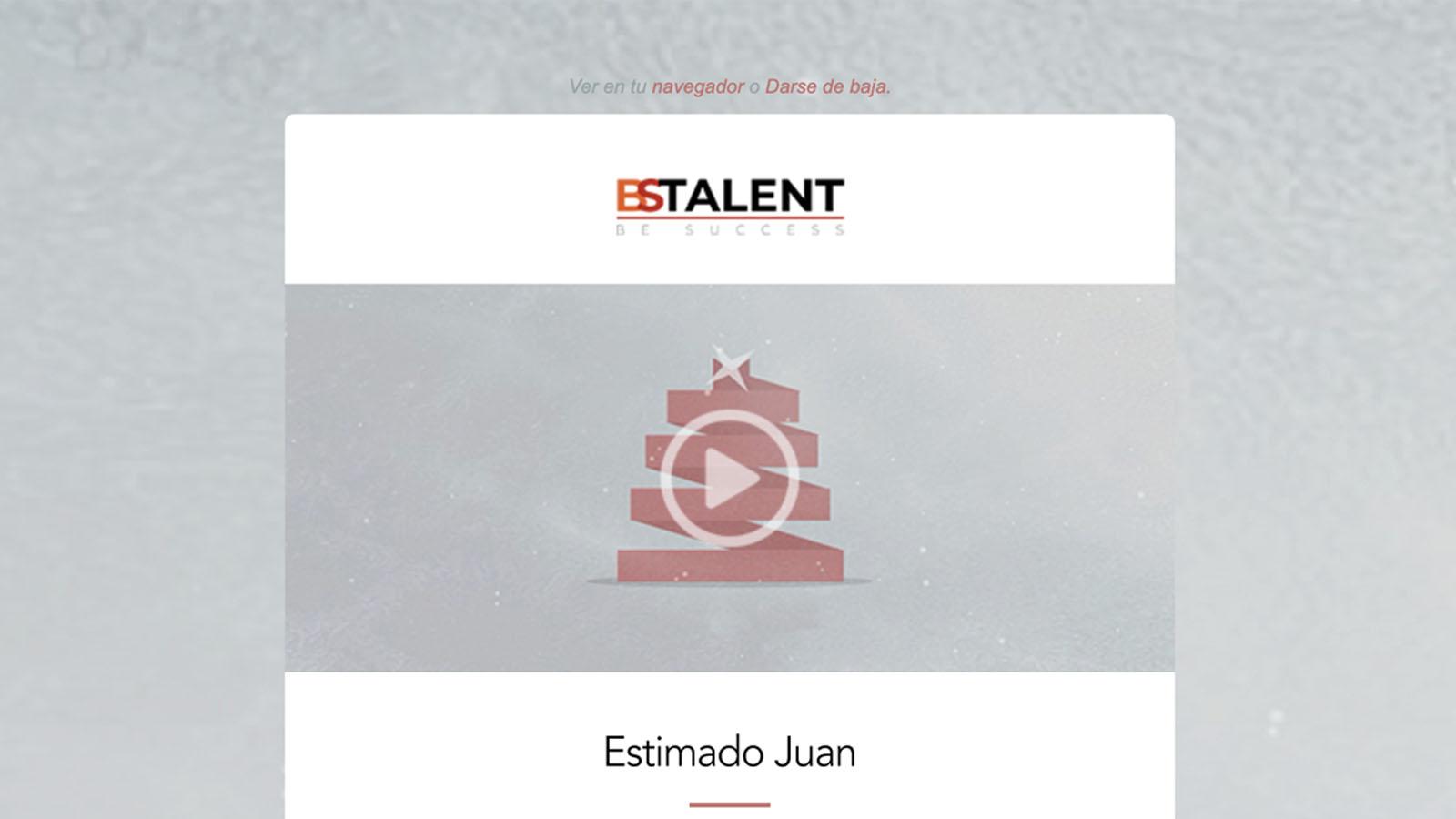 campaña emailing bs talent - víctor merino | vídeo marketing online