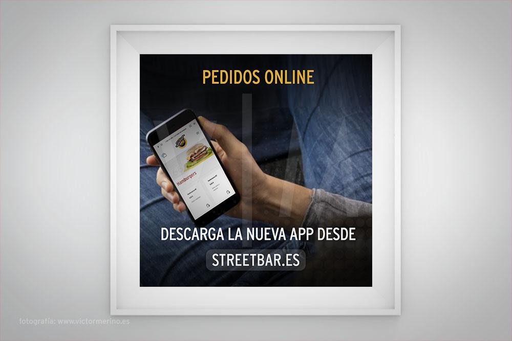 App pedidos online de comida