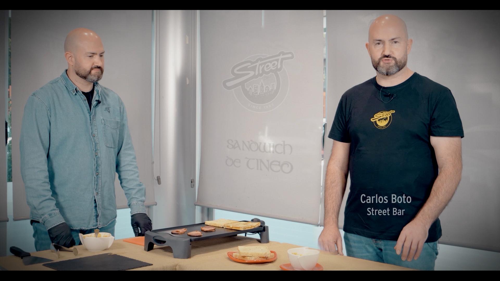 Receta para concurso virtual - Street Bar